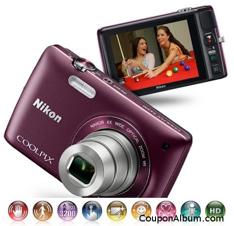 Nikon Coolpix S4300 Digital Camera