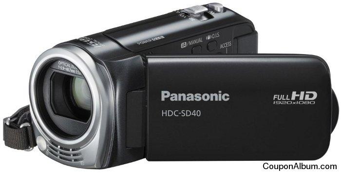 Panasonic HDC-SD40 HD Camcorder