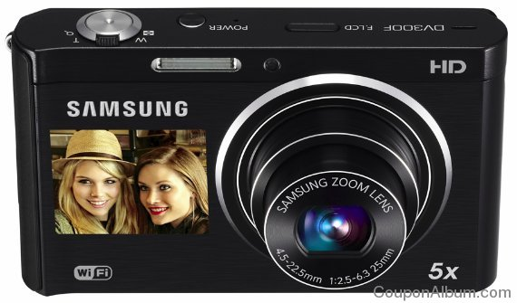 Samsung DV300F DualView Digital Camera