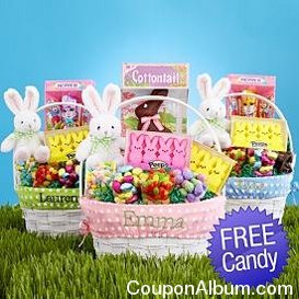 Our variety of personalized Easter baskets will make finding Easter gifts easy. Give a custom Easter basket to your niece, nephew, or child, with their name embroidered on it for a custom touch. Give a custom Easter basket to your niece, nephew, or child, with their name embroidered on .