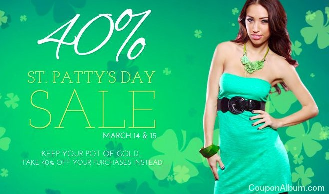 amiclubwear pattys day sale