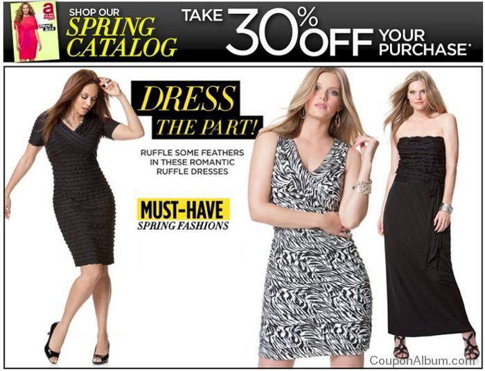 avenue spring catalog savings