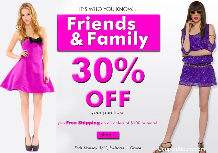 betsey johnson friends-family event