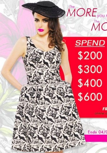 betsey johnson shop more save more-1