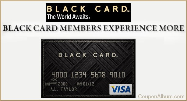 black card visa