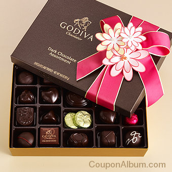 dark chocolate spring gift box