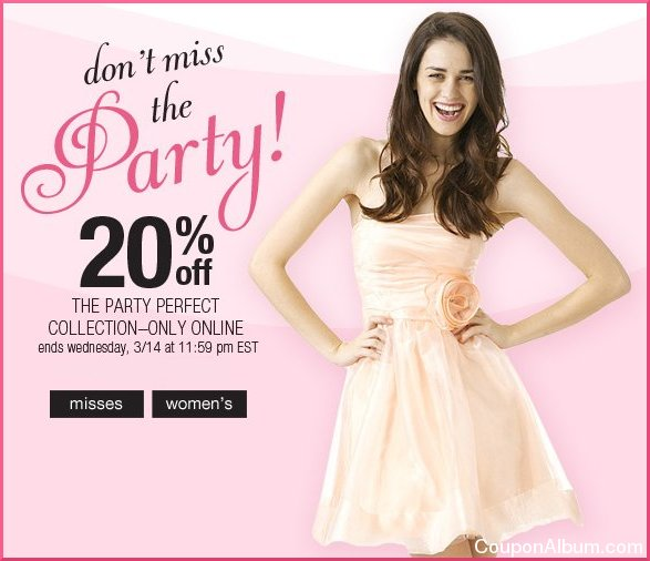 dressbarn party dresses