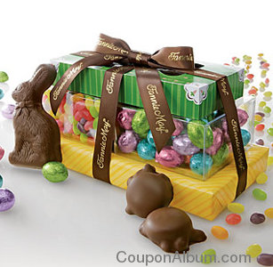 easter chocolate and candy quartet