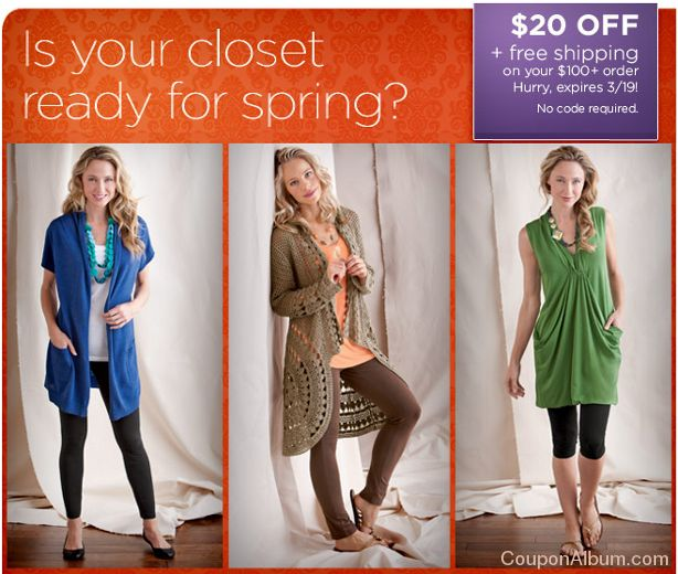 gaiam fresh spring looks
