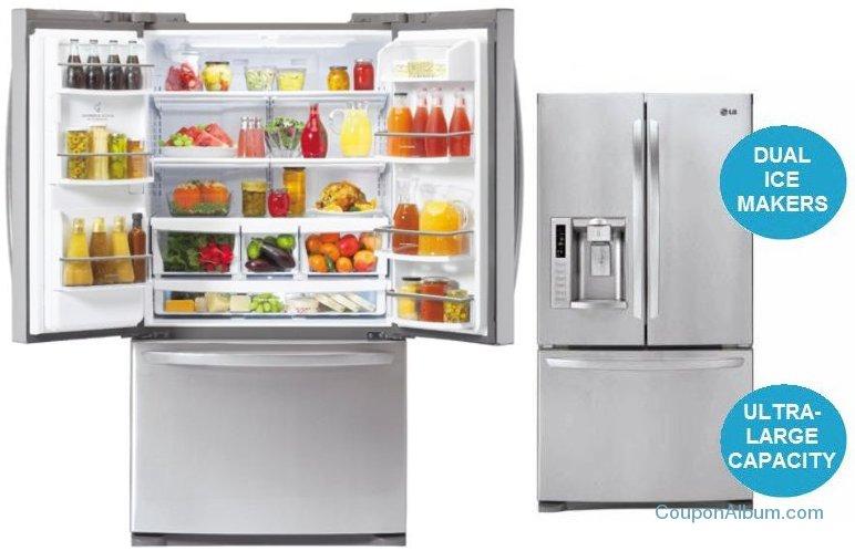 lg french-door refrigerator-lfx28979st
