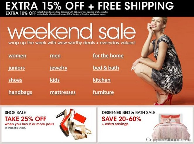 macys weekend sale