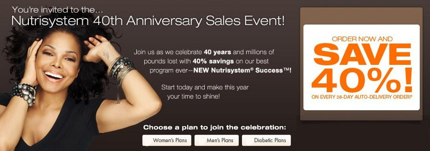 nutrisystem anniversary event