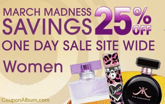 perfumania march madness sale