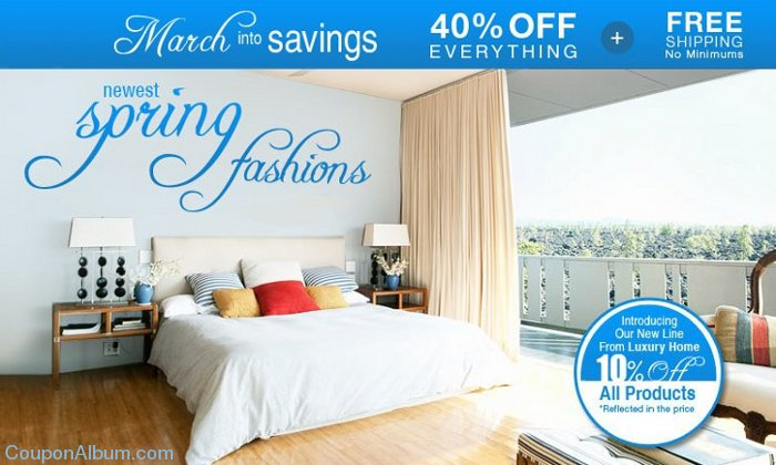 selectbedding march into savings event