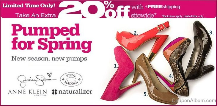 shoes.com hot coupon
