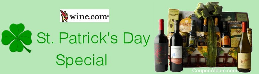 wine.com st patricks day gift