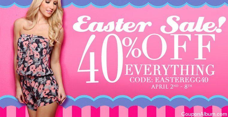 AmiClubWear Easter Sale