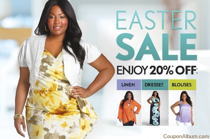 Ashley Stewart Easter Sale
