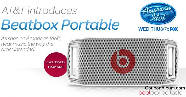 Beatbox Portable Audio System