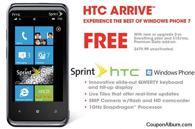 HTC Arrive