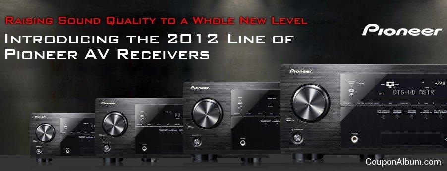 Pioneer 2012 AV Receivers