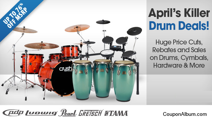 Musician's Friend Killer Drum Deals