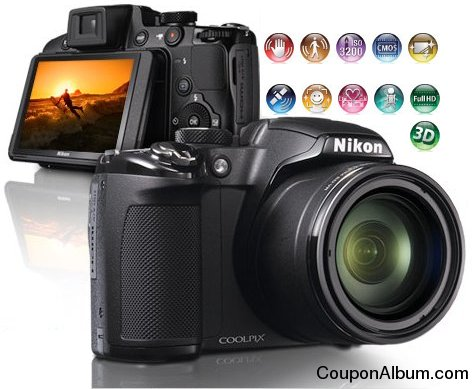 Nikon Coolpix P510 Digital Camera