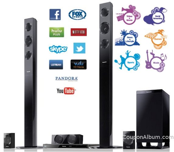 Panasonic 3D home theater system