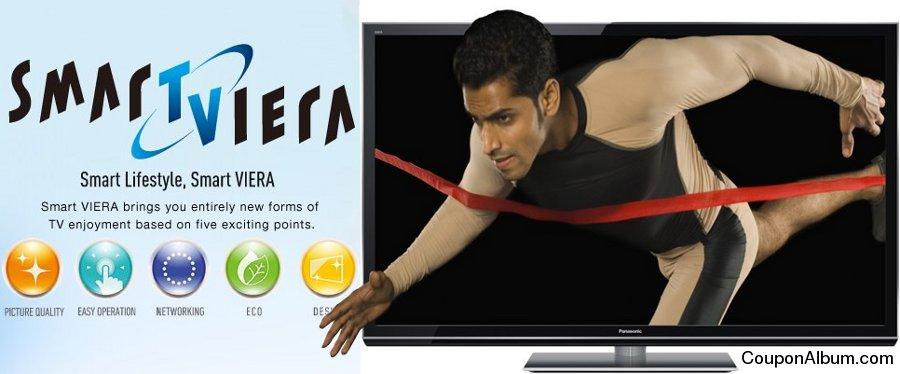 Panasonic Smart VIERA 3D Plasma HDTV