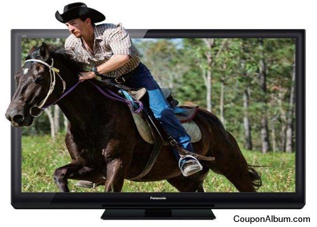 "Panasonic Viera TCP55ST30 55"" 3D Plasma HDTV"