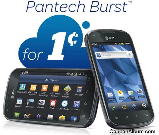 Pantech Burst