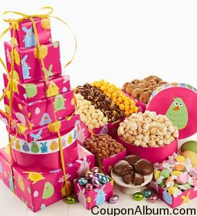 Popcorn and Snack Tower Easter Friends Design
