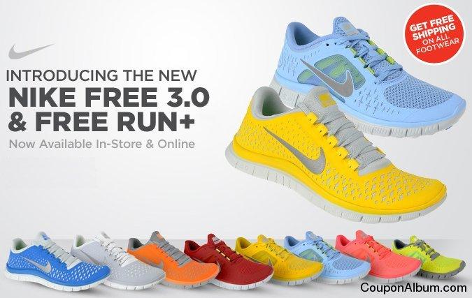 Nike Free Run+ 3 Running Shoes