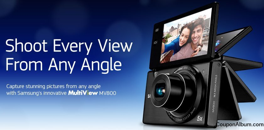 Samsung MV800 Digital Camera