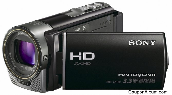 Sony HDR-CX160 HD Camcorder