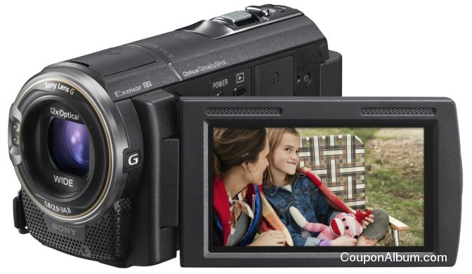 Sony HDR-CX580V Full HD Camcorder