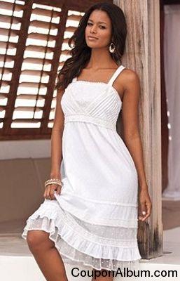 St. Tropez Dress with Empire Waist by Denim