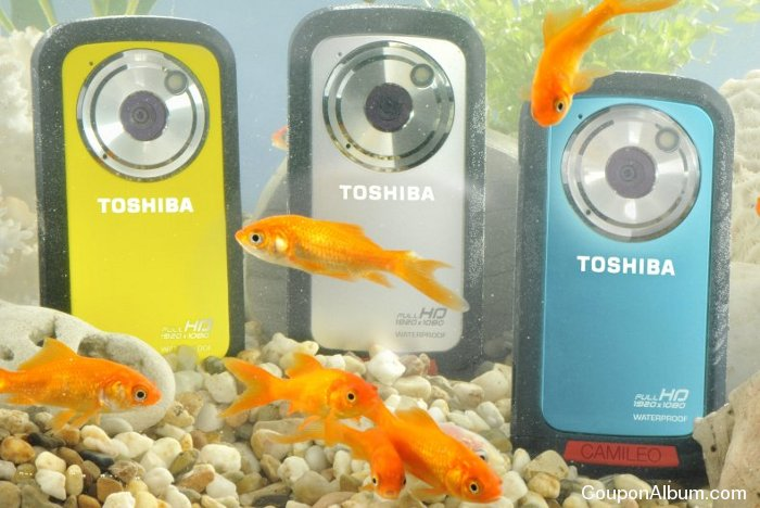 Toshiba CAMILEO BW10 Waterproof HD Camcorder