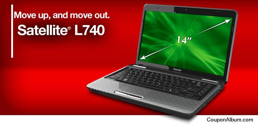 Toshiba Satellite L740 Laptop