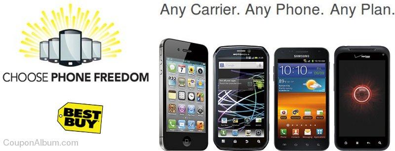 Best Buy Choose Phone Freedom