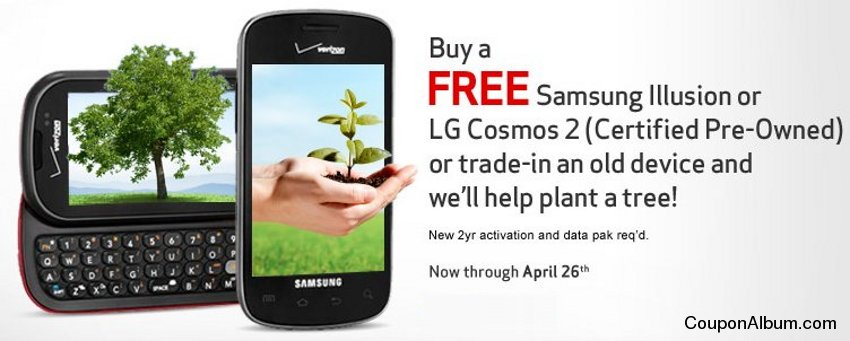 Verizon Wireless Earth Day Sale