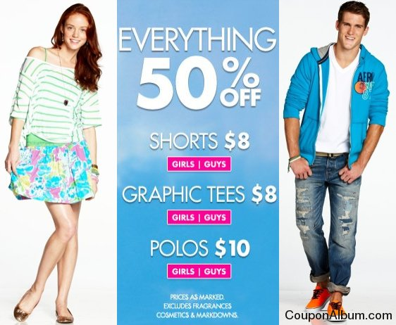 aeropostale hot savings