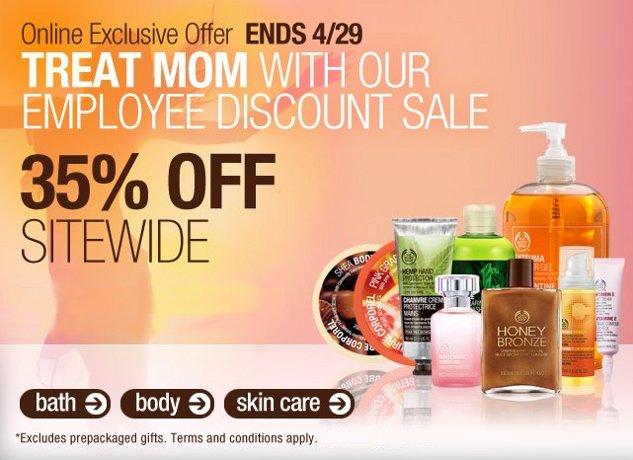 body shop employee discount