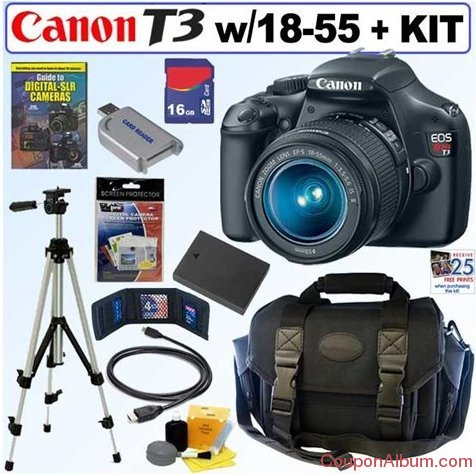 canon digital slr camera bundle