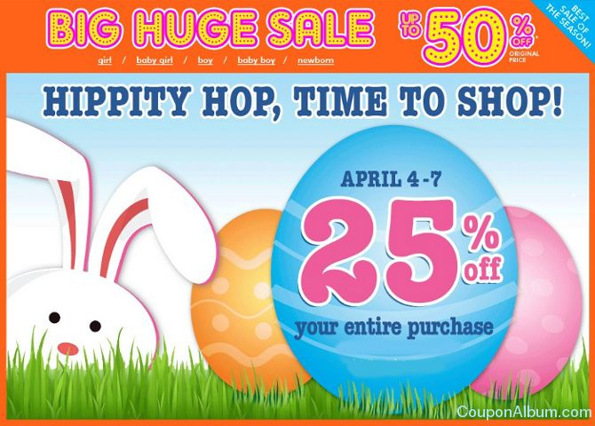 childrens place easter sale
