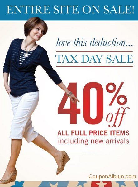 christopher banks tax day sale