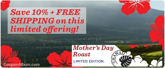 coffees of hawaii mothers day roast
