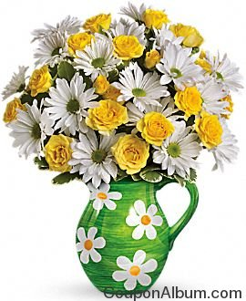 happy daisies bouquet