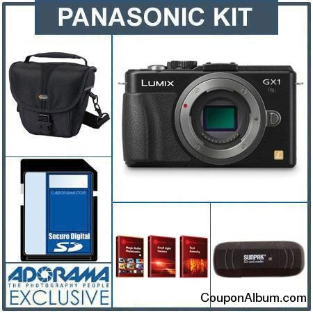 anasonic Lumix DMC-GX1 Camera Kit