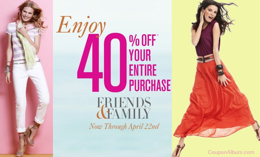 loft friends-family sale
